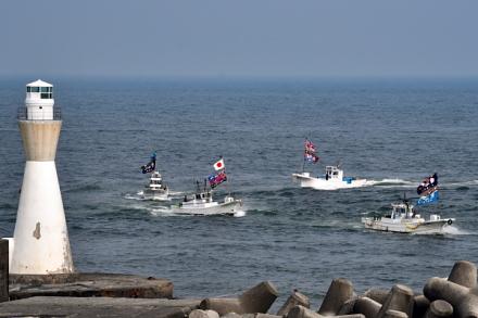海上パレード