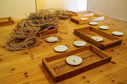 芸術村プロジェクト展「痕跡」展示作品