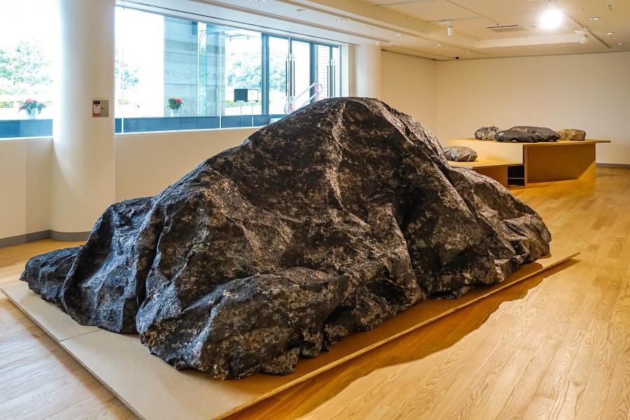友田多恵子展開催のふじ・紙のアートミュージアム