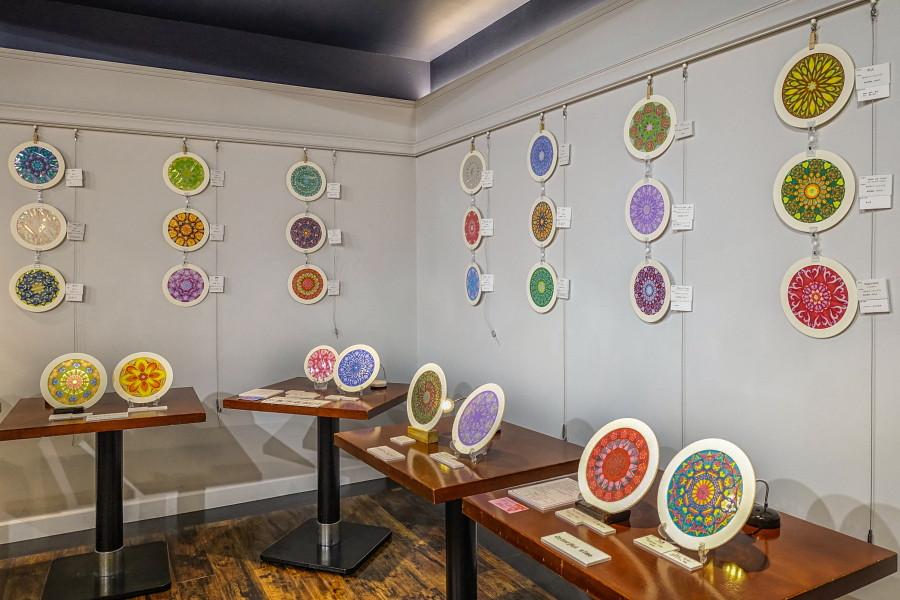 ローズウィンドウ展示会開催のアパホテル富士中央