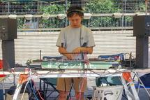 DJプレイ