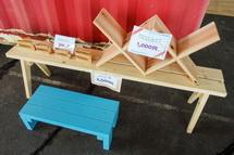 木工品の販売