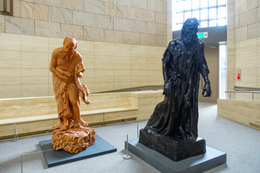 静岡県立美術館の作品展示