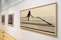 静岡市美術館の作品展示