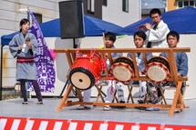 富士宮囃子の演奏