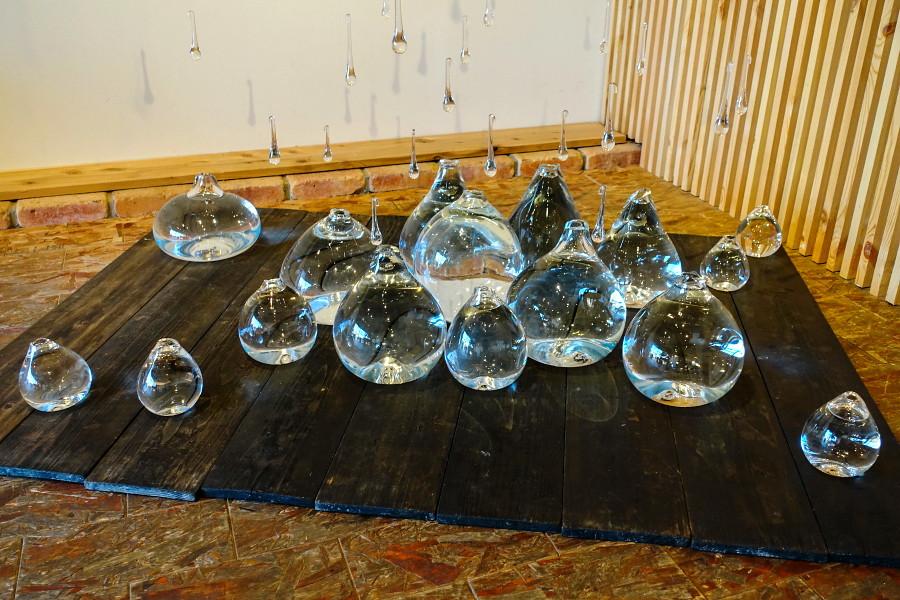 ガラス展開催のAlternative Space ARATA