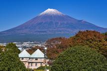 会場から綺麗な富士山を楽しめた