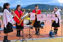 高校吹奏楽部の演奏