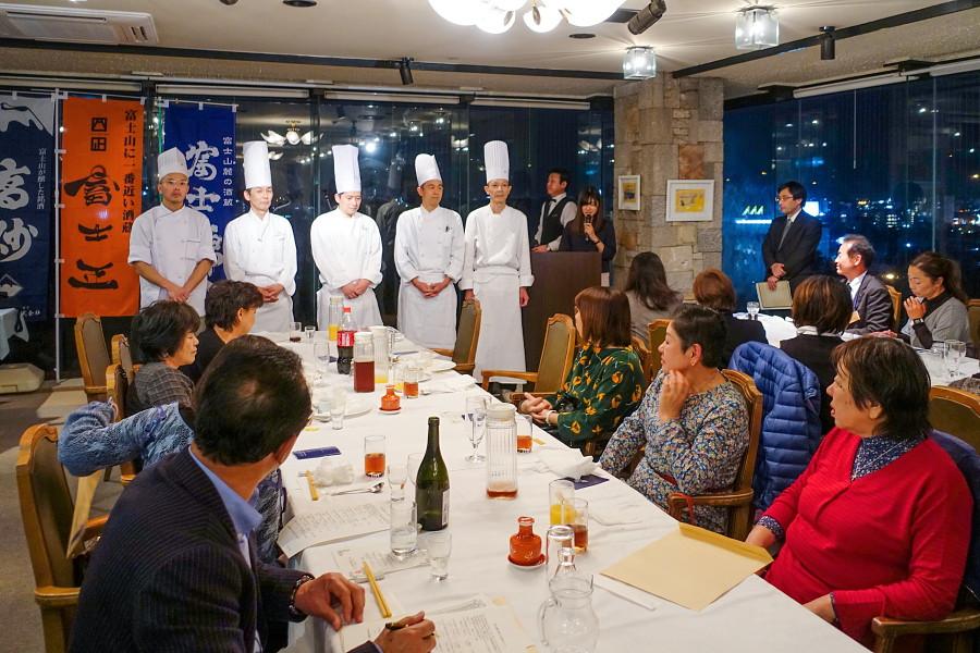 富士山麓食の都づくり交流会が開催されたレストラン☆ヴィルゴ