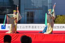 浅間大社「浦安の舞」の披露