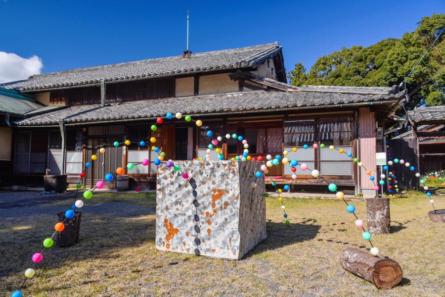 松ヶ岡の展示作品