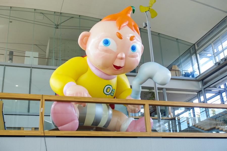 掛川市役所の展示作品