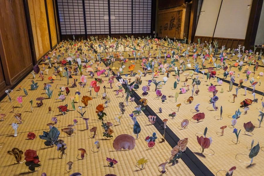 東山・日坂・原田・原泉方面の展示作品