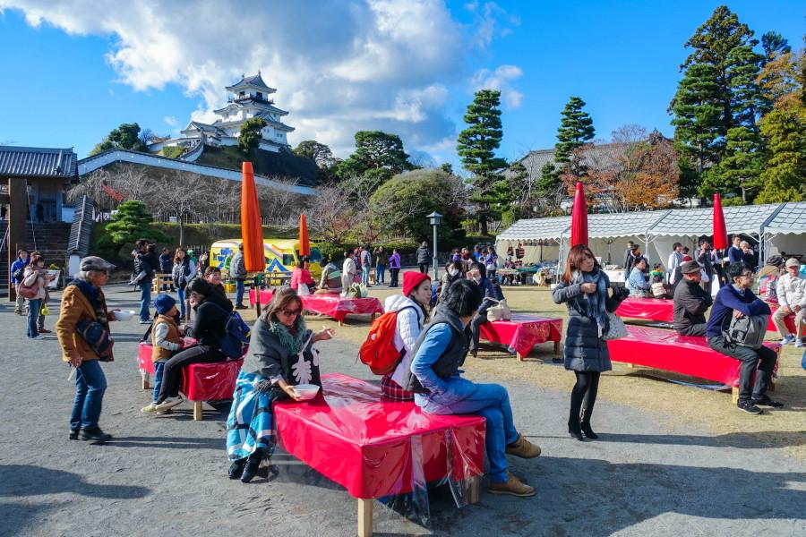 ファイナルイベントの「大茶縁会」