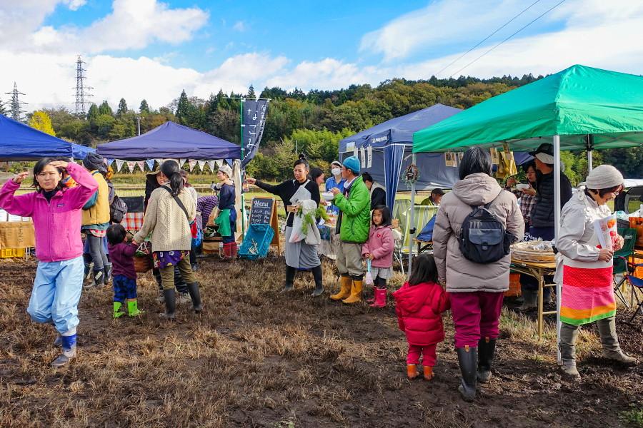 秋の大感謝祭開催の永田牧場