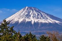 富士山をズーム