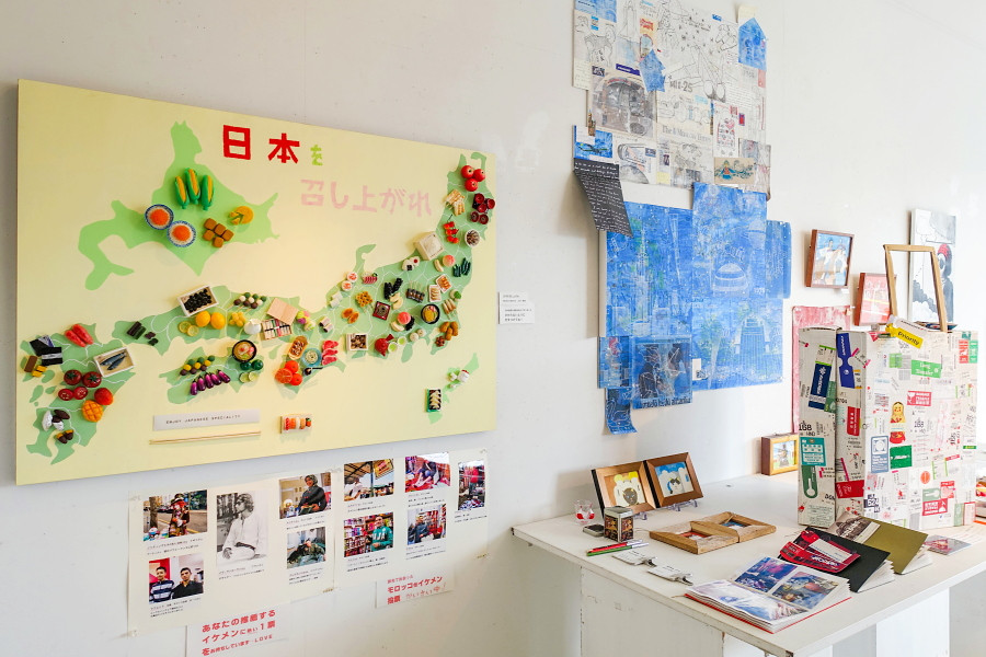 「ワタナベ津雪と美術乙女たち展」開催のRYU GALLERY