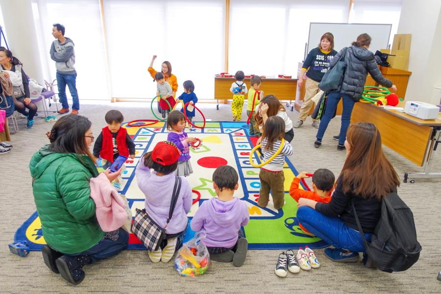 イベント開催の富士市交流プラザ