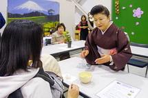 日本の伝統文化に触れるコーナー