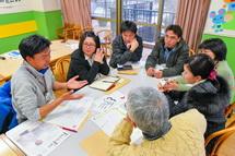 参加者同士でグループセッション