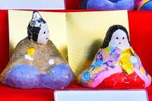 昭和の養生所物語での雛人形展示