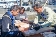 木工のワークショップ