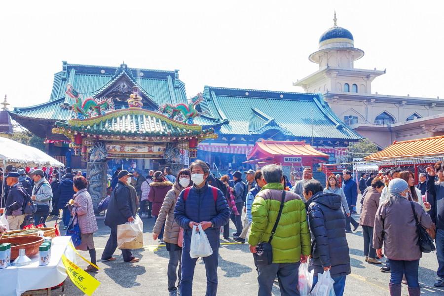 毘沙門天大祭開催の妙法寺