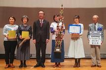 富士青春市民大賞の自己推薦部門はKeiさん