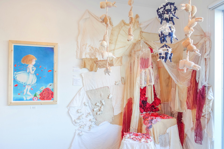 YOUNG ARTISTS展開催のRYU GALLERY