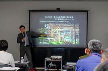 講座1回目 富士市の工場夜景について解説