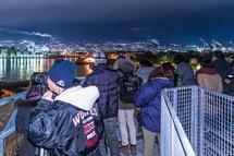 講座2回目 富士工場夜景ツアー