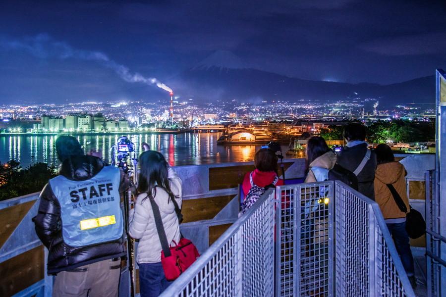 みなと公園富士山ドラゴンタワーから撮影