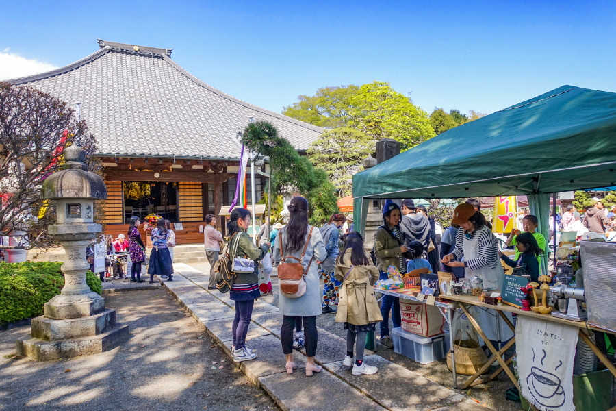 花まつり縁日開催の大頂寺