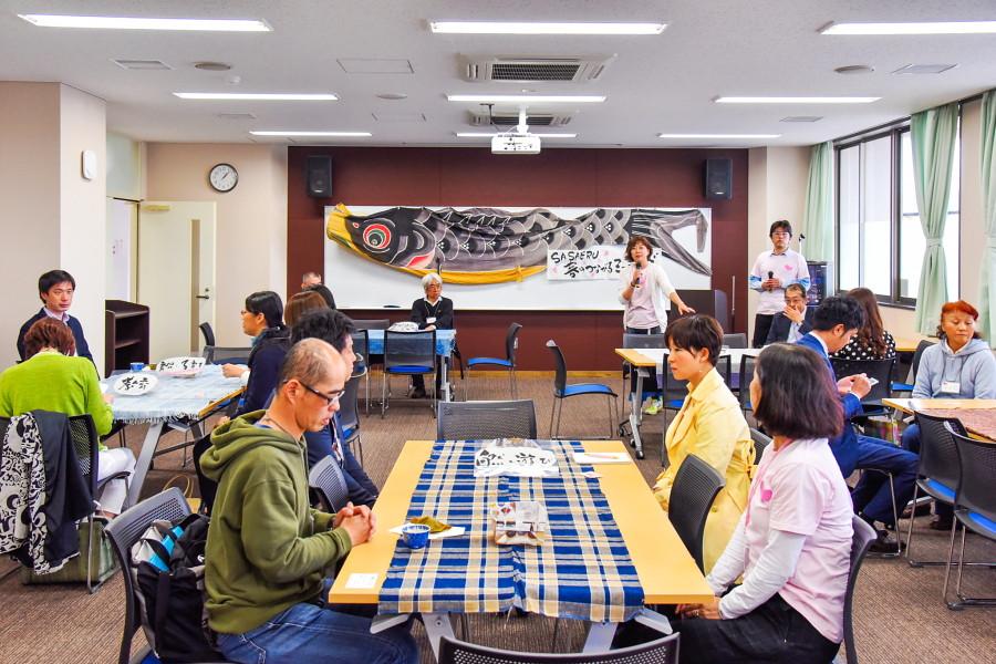 SASAERU春のつながるミーティング開催の富士市教育プラザ
