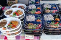 BEPPIN食堂の弁当や総菜