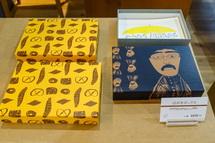 紙箱の展示販売