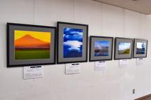 東部市民プラザでの富士山百景写真展