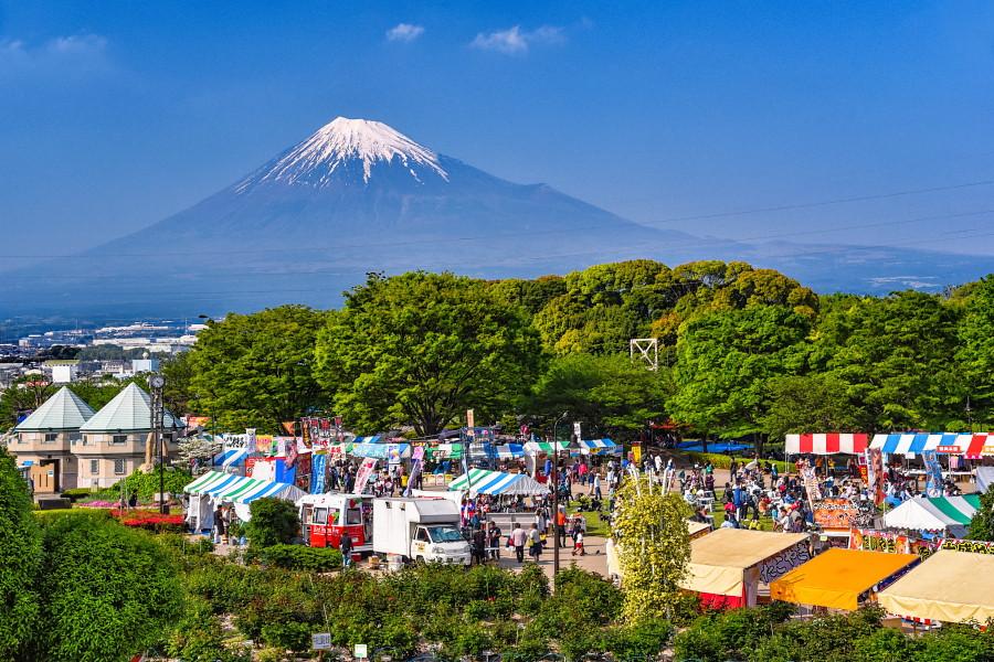 あっぱれ富士開催の富士市中央公園