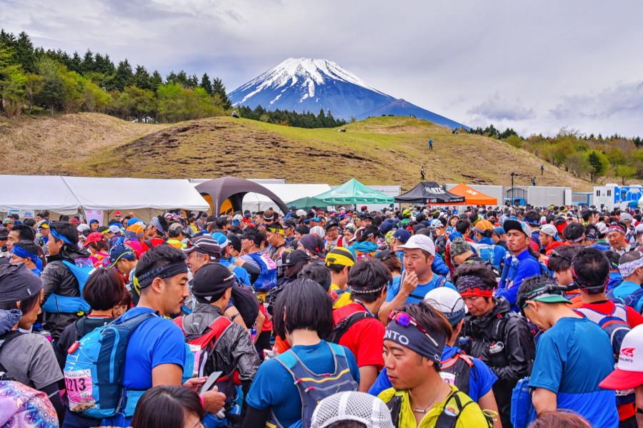 スタート地点の富士山こどもの国
