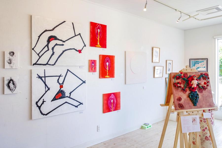「エロスの展示室」展開催のRYU GALLERY