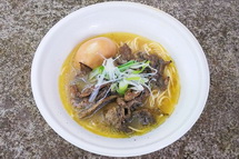 麺匠なか巌の「肉 鶏白湯麺」