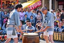 宮太鼓の競演