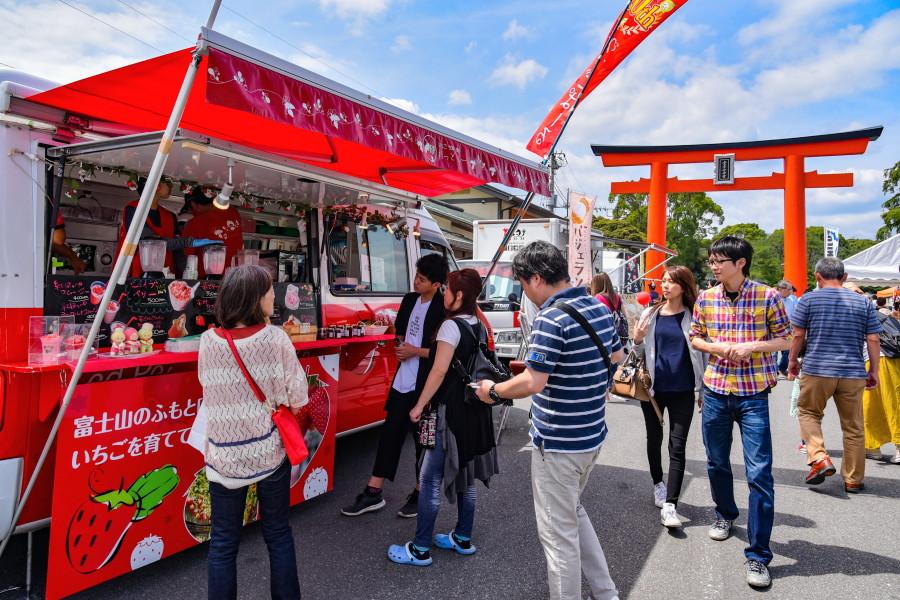 富士山世界遺産登録5周年記念祭開催の浅間大社