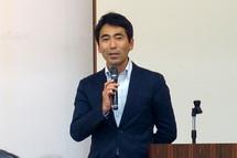 元横須賀市長の吉田雄人さんによる講演