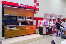 ガス器具・キッチン等の展示