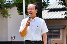 富士市長の挨拶