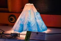 富士の山かみ灯りコンテストの作品