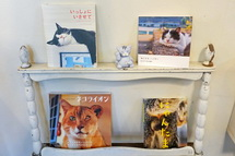猫グッズの展示販売