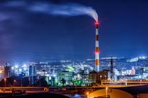 展望台からの工場夜景