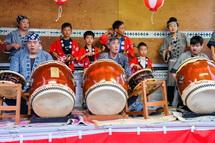 祇園囃子の演奏